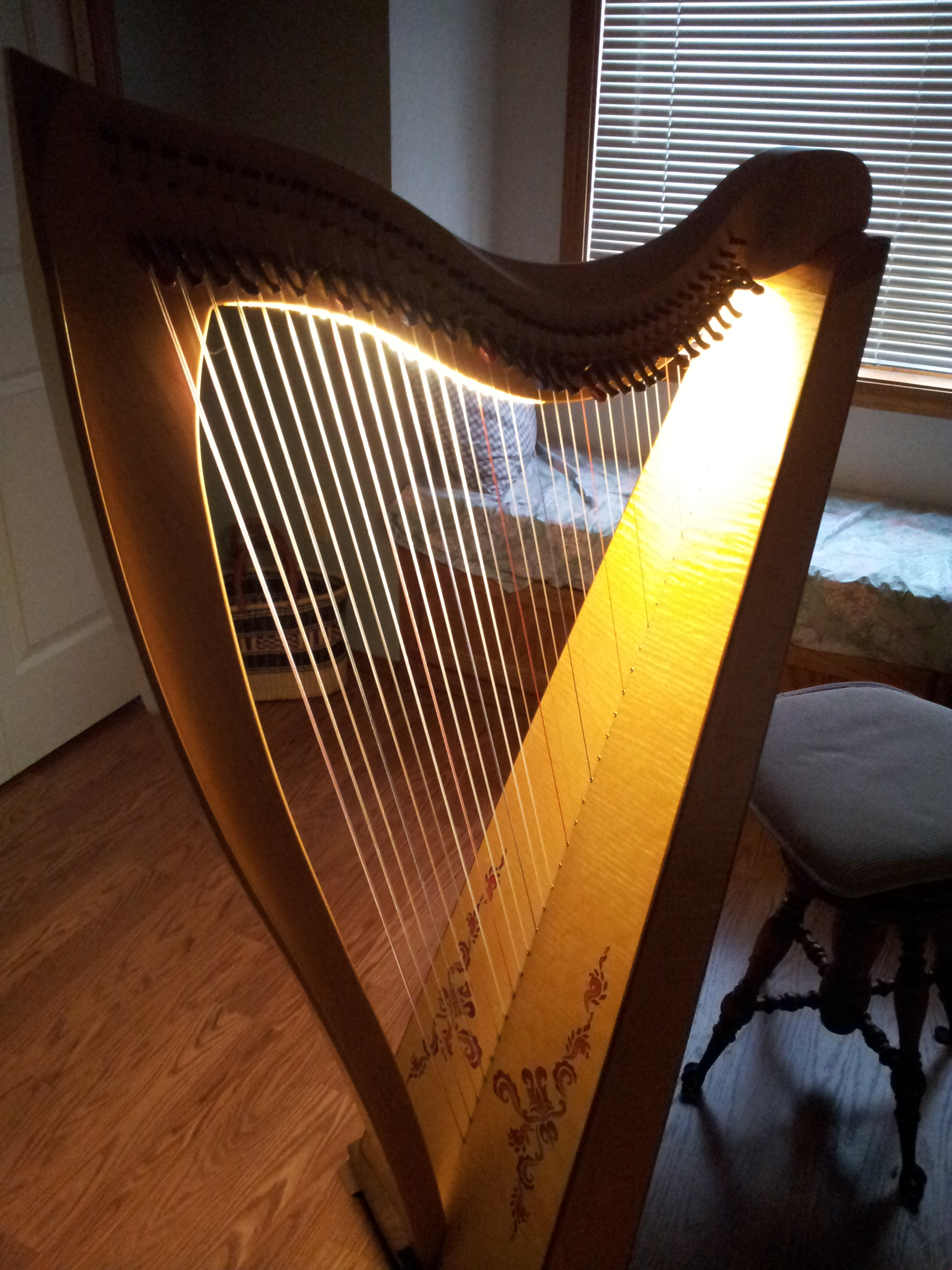 Montana Harp Information And Merchandise